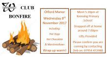 Wednesday Club Bonfire Night Flyer