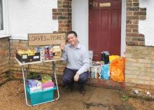 October 2010 Foodbank Collection