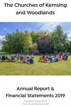 Annual Report Cover for 2019