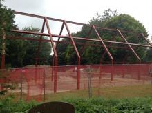 Steel frame (August 2019)